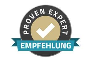 Elias Lange - Proven Expert Empfehlung